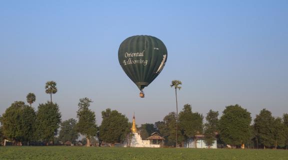 Balloon Experience Over Mandalay