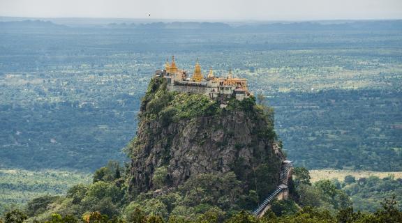 Yangon-Bagan-Mt Popa-Yangon (By flight)