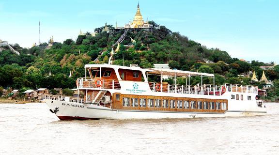 Mandalay - Bagan (Downstream) Day Cruises